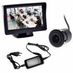 Фото Комплект видеонаблюдения (врезная камера+монитор)