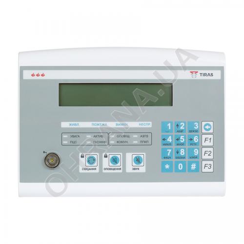 Фото Прибор пожарной сигнализации Тирас-16.128П (метал)+ВПК Тирас
