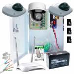 Фото Комплект видеонаблюдения для квартиры 4/3 MP   PTZ Wi-Fi SD
