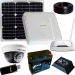 Фото 1 Мп Комплект видеонаблюдения 1 камера 3G и солн панель