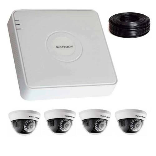 Фото 2 Мп Комплект видеонаблюдения DS-7104HQHI-K1/DS-2CE56D0T-IRMMF