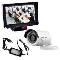 Фото 1 Комплект уличного видеонаблюдения (VLC-6128WM+монитор)