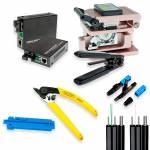 Фото Набор оборудования для быстрого монтажа оптического FTTH кабеля (без сварки)