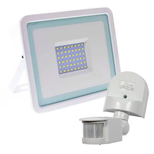 Фото Комплект Прожектор LED 50W SMD+Датчик движения ДД-008 (белый)