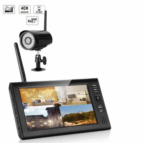 Фото Комплект беспроводного видеонаблюдения KIT-HD71