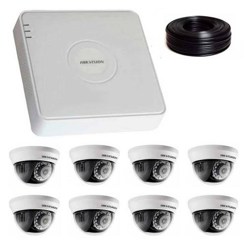 Фото 2 Мп Комплект видеонаблюдения DS-7108HQHI-K1/DS-2CE56D0T-IRMMF
