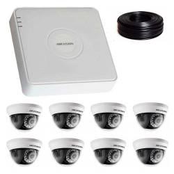 Фото 1 2 Мп Комплект видеонаблюдения DS-7108HQHI-K1/DS-2CE56D0T-IRMMF